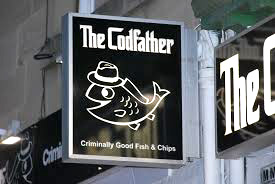 codfather fish n chips Edinburgh