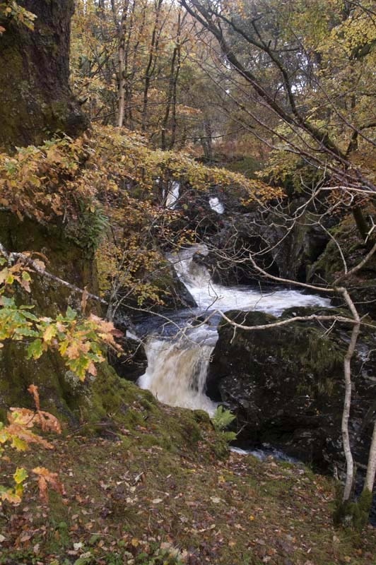 waterfall Perthshire Scotland