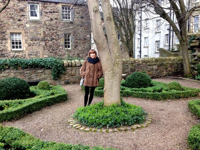 Dunbar's Close Garden Edinburgh