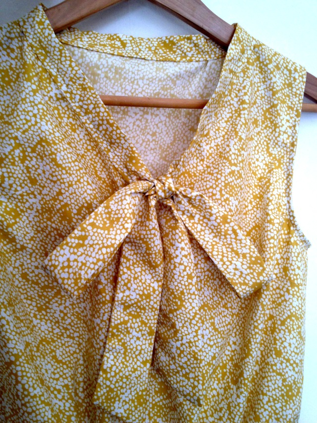 Pussy Bow Dress by Salme Sewing Patterns